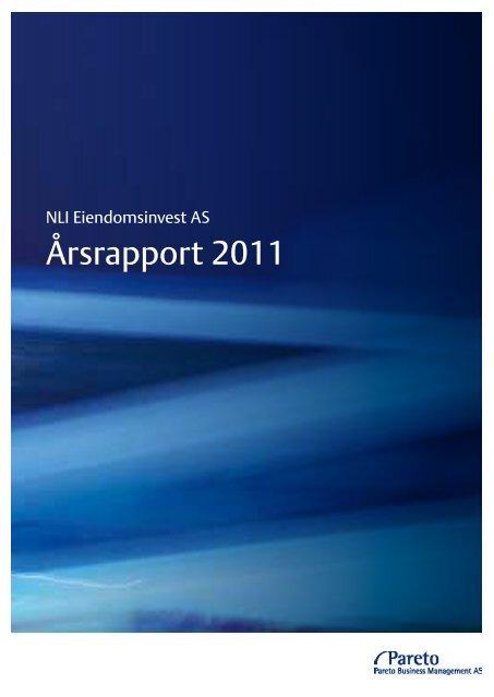 Årsrapport 2011 - Pareto Project Finance