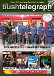 28th March 2013 - The Bush Telegraph Weekly