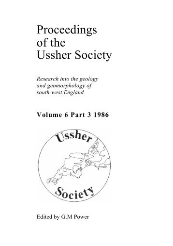 Volume 6, Part 3, 1986 - Ussher Society