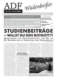 Wadenbeißer Nr. 66 vom 23.10.2006 [PDF] - ADF ...