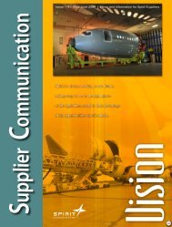 Issue 114 | May-June 2009 - Spirit AeroSystems