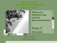 recommendation - UCCE Mariposa County