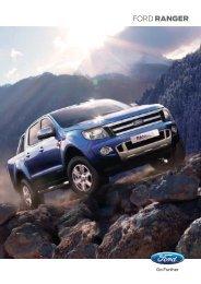 Brochure de la Ford Ranger - Ford Luxmotor