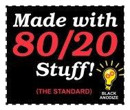 anodize - 80/20® Inc.