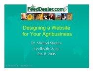 Building a Website - FeedDealer.Com