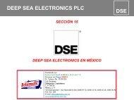 Deep Sea Electronics plc - Grupo IDIMEX