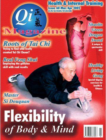 Issue 60 - Tse Qigong Centre