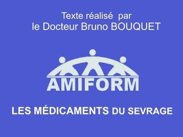 LES MÉDICAMENTS le Docteur Bruno BOUQUET - bienvenue sur ...