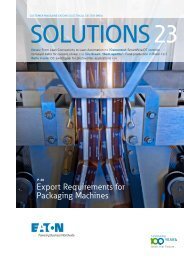 Export Requirements for Packaging Machines - Moeller