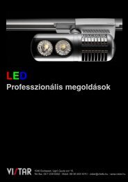 LED Professzionális megoldások - Vistar