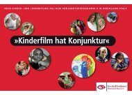 Kinderfilm hat Konjunktur - Landesfilmdienst Rheinland-Pfalz e.V.