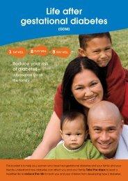 Life after gestational diabetes - NDSS