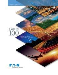 Eaton Corporation 2010 Annual Report - Moeller