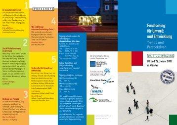gibt es das Programm-Faltblatt als Download. - Eine Welt Netz NRW