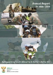 Department of Defence Annual Report 2008-2009