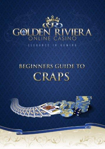 The beginners guide to craps - Golden Riviera Online Casino