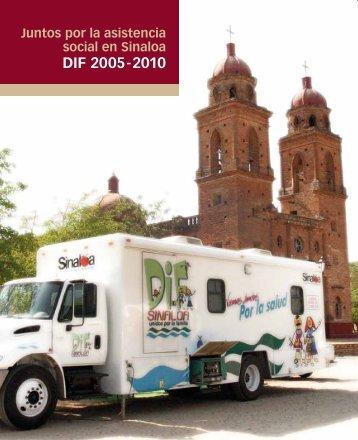 Informe de actividades 2005-2010 - Gobierno del Estado de Sinaloa