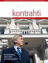 4/2009 - Senaatti-kiinteistöt
