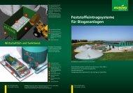 Biogas Deutsch - Huning Maschinenbau