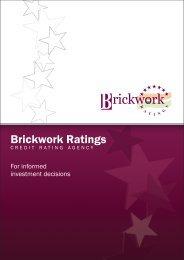 Corporate Brochure - Brickwork Ratings