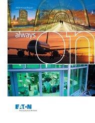 Eaton 2008 Annual Report - Moeller