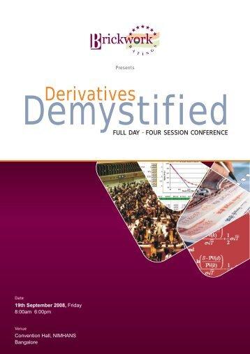 Derivatives - Brickwork Ratings