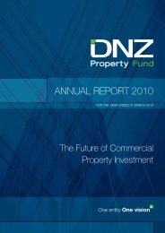 DNZ Annual Report for the year ended 31 March 2010