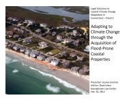 Adapting to Climate Change through the Acquisition of Flood-Prone ...