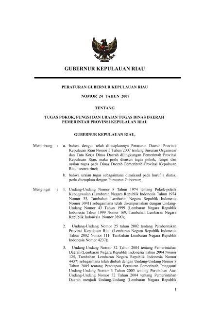 Gubernur Kepulauan Riau Mahkamah Konstitusi Ri