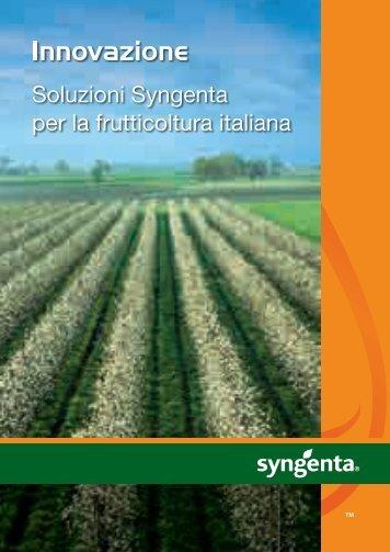 Soluzioni Syngenta per la frutticoltura italiana
