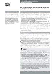 Bailey Birkett - Safety Systems UK Ltd