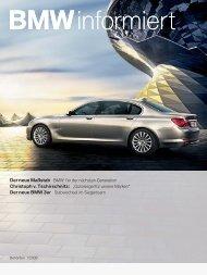 Der neue Maßstab BMW 7er der nächsten Generation Christoph v ...