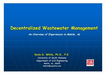 Decentralized Wastewater Management -An Overview of ...