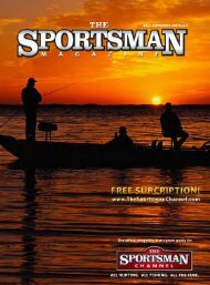 Join SCI today! - The Sportsman Channel