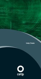 Módulo de integração - STP - Cetip