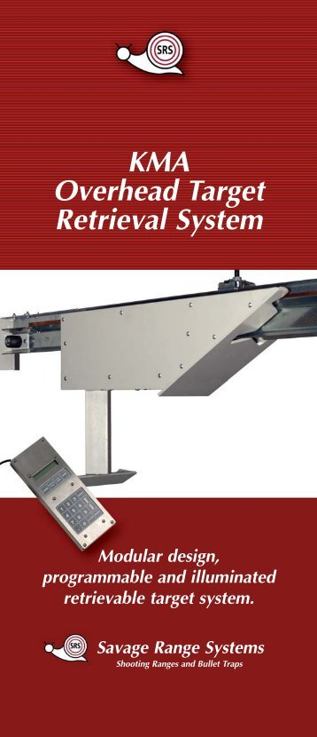 KMA Overhead Target Retrieval System - Savage Range Systems