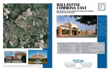 BALLANTYNE COMMONS EAST