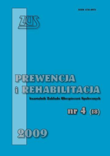 Prewencja i rehabilitacja 4/2009