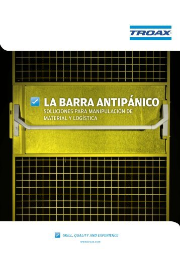 LA BARRA Antipánico - Troax