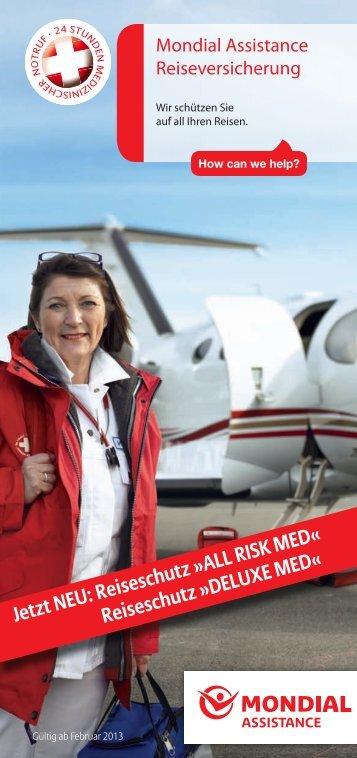 Mondial Assistance Broschüre 2013 - Allianz Global Assistance ...