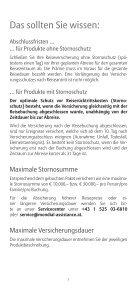 Mondial Assistance Broschüre 2013 - Allianz Global Assistance ... - Page 5