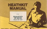 HEATHKIT® - Tubular Electronics
