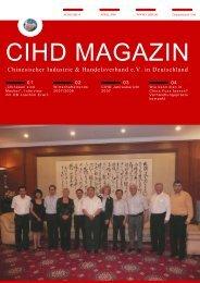 CIHD Magazin 4 04/2008 - Chinesischer Industrie- und ...