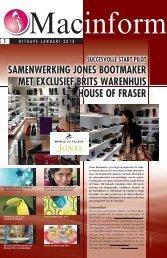 Macinform NL januari 2013 - Macintosh Retail Group