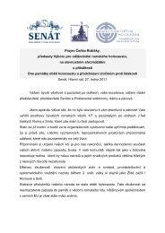 Projev předsedy Výboru pro odškodnění romského holocaustu ...