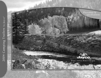 2004 Qwest® Camping Trailer Floorplans - Jayco