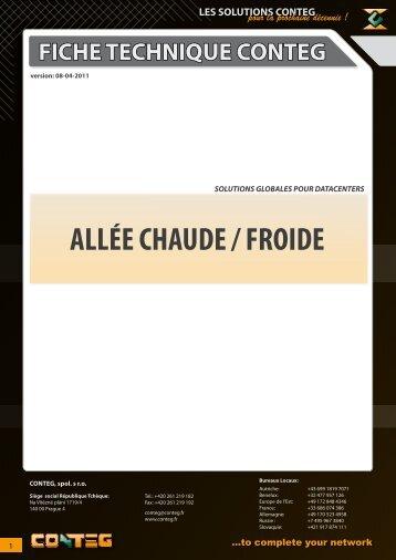 ALLÉE CHAUDE / FROIDE - Conteg