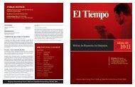 Written by Hispanics, for Hispanics. MEDIA KIT PUBLIC NOTICE