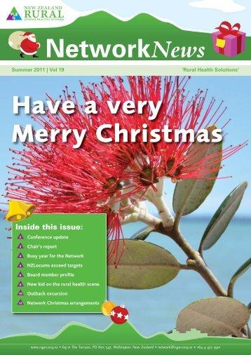 Summer 2011 | Vol 19 - New Zealand Rural General Practice ...