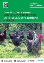 cum să supraveghem şi să controlăm infecţia cu virusul gripal a(h5n1)
